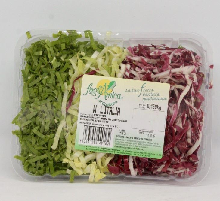 Vassoio tricolore gr. 250 € 1,60